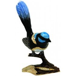 Blue Wren Trinket Box