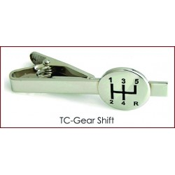Gear Shift Tie Clip