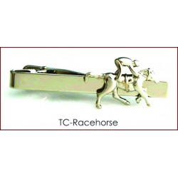 Racehorse Tie Clip