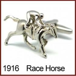 Race Horse Novelty Cufflinks