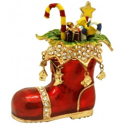 Xmas Boot Trinket Box