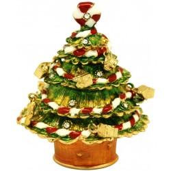 Xmas Candy Tree Trinket Box