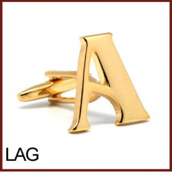 A - Letter/Initial Gold...