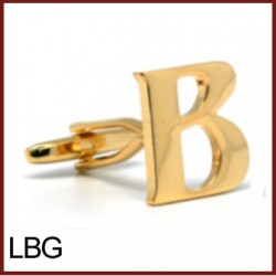 B - Letter/Initial Gold...