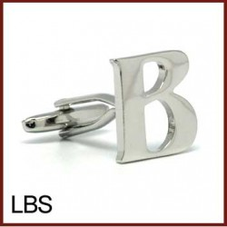 B - Letter/Initial Silver...
