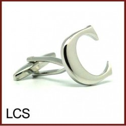 C - Letter/Initial Silver...
