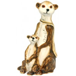 Meerkat Family Trinket Box