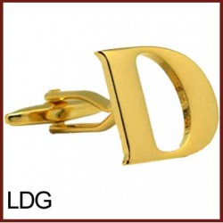 D - Letter/Initial Gold...