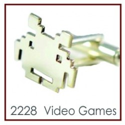 Video Games Novelty Cufflinks