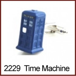 Time Machine Novelty Cufflinks