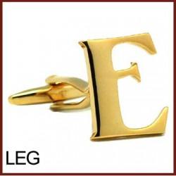 E - Letter/Initial Gold...