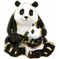 Panda Family Trinket Box