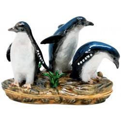 Fairy Penguins Trinket Box