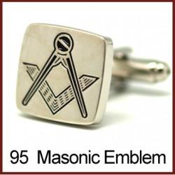 Masonic Emblem - Silver...