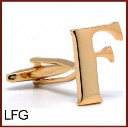 F - Letter/Initial Gold...