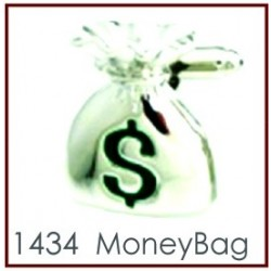 Money Bag Novelty Cufflinks