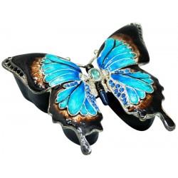 Ulysses Butterfly Trinket Box