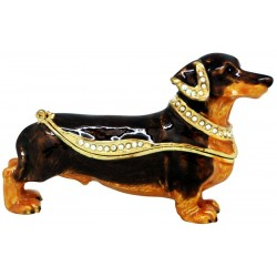 Dachshund-Chocolate Trinket...