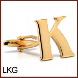 K - Letter/Initial Gold...