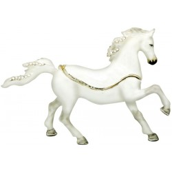 Arabian Horse White Trinket...