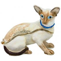 Siamese Cat Trinket Box