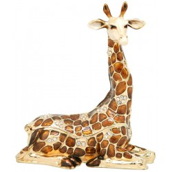 Giraffe Sitting Trinket Box