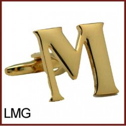 M - Letter/Initial Gold...
