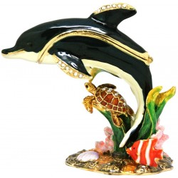 Reef Dolphin Trinket Box
