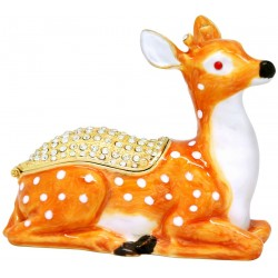 Deer Sitting Trinket Box