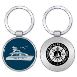 KeyPsakes - Boat Keyring
