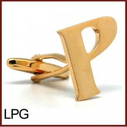 P - Letter/Initial Gold...