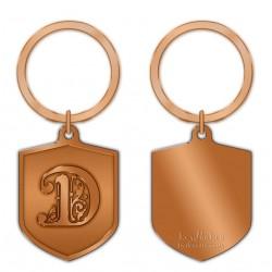 KeyPsakes - Letter D  Keyring
