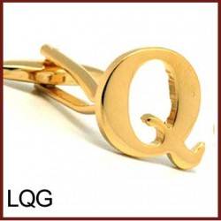 Q - Letter/Initial Gold...