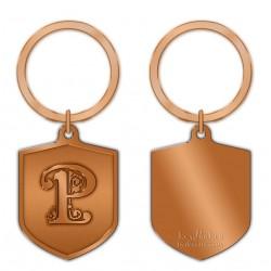 KeyPsakes - Letter P  Keyring