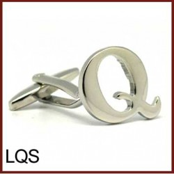 Q - Letter/Initial Silver...