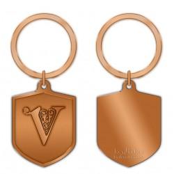 KeyPsakes - Letter V  Keyring