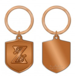KeyPsakes - Letter Z  Keyring