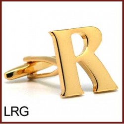 R - Letter/Initial Gold...