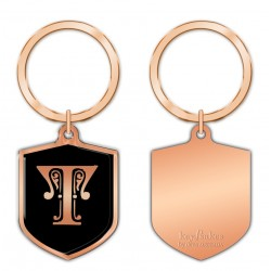 KeyPsakes - Letter T  Keyring