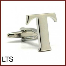 T - Letter/Initial Silver...