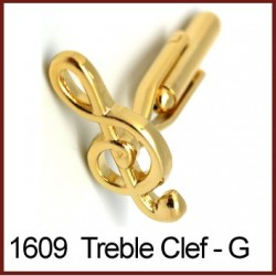 Treble Clef - Gold Novelty...