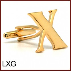 X - Letter/Initial Gold...