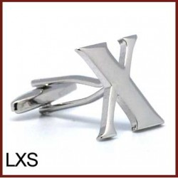 X - Letter/Initial Silver...