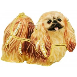 Pekingese Dog Trinket Box