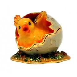 Hatching Chick Trinket Box