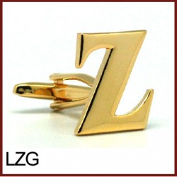 Z - Letter/Initial Gold...