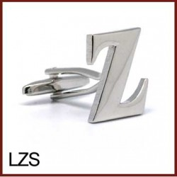 Z - Letter/Initial Silver...