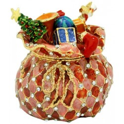 Santa's Sack Trinket Box