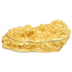 Gold Nugget Trinket Box