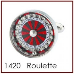 Roulette Novelty Cufflinks